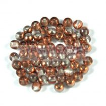 Cseh préselt golyó gyöngy - crystal apollo - 3mm-p
