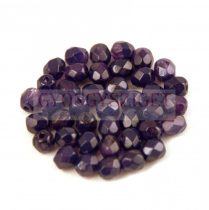 Cseh csiszolt golyó gyöngy -  Crystal Sapphire Blend - 4mm
