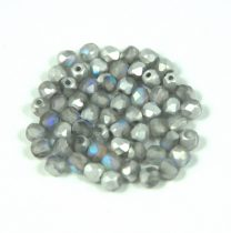 Cseh csiszolt golyó gyöngy - crystal matte vitrail light -3mm