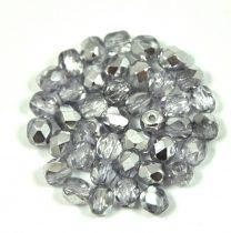 Cseh csiszolt golyó gyöngy -  crystal semi-apollo-4mm