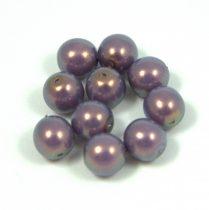 Cseh préselt golyó - lilac golden shine -8mm