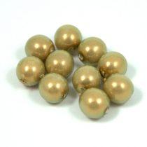 Cseh préselt golyó - powder golden shine -8mm