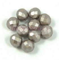 Cseh csiszolt golyó gyöngy - pastel walnut - 8mm