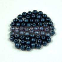 Préselt golyó gyöngy- pastel montana -3mm-p