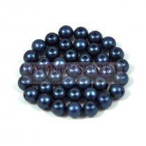 Préselt golyó gyöngy- pastel montana -4mm-p