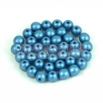 Préselt golyó gyöngy - Metallic Polichrome Petrol - 4mm
