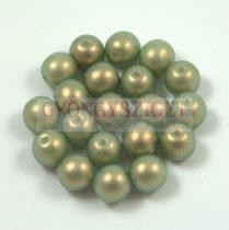 Cseh préselt golyó gyöngy - mint golden shine -4mm