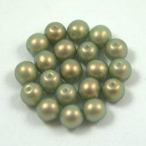 Cseh préselt golyó gyöngy - mint golden shine -6mm