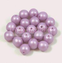 Cseh préselt gyöngy -  luminous pastel purple - 8mm
