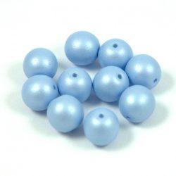 Cseh préselt gyöngy -  Luminous Pastel Light Sapphire - 8mm