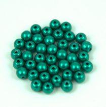 Cseh préselt golyó gyöngy - saturated metallic arcadia - 4mm