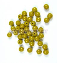 Préselt golyó gyöngy- borsózöld-4mm-p
