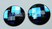 Swarovski - 2035 - 20 mm - Crystal bermuda blue ragasztható kaboson