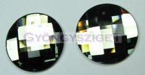 Swarovski - 2035 - 20 mm - Crystal sage ragasztható kaboson