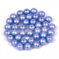 Cseh préselt golyó gyöngy - pastel light blue- 4mm