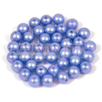 Préselt golyó gyöngy- pastel light blue -4mm-p
