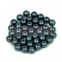 Préselt golyó gyöngy- pastel steel blue -4mm-p