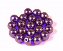 Cseh préselt golyó - sapphire luster -6mm