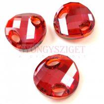 Swarovski - 3221 - 18mm - Crystal red magma varrható kristály