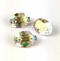 Swarovski ovális kaboson - 14x10mm - Crystal Luminous Green