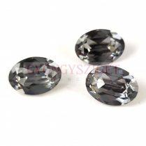 Swarovski ovális kaboson - 14x10mm - Crystal Silver Night