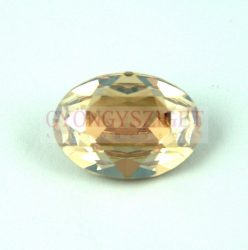 Swarovski ovális kaboson - 18x13mm - golden shadow