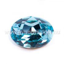 Swarovski ovális kaboson - 18x13mm - light turquoise