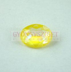 Swarovski ovális kaboson - 18x13mm - Crystal Sunshine Delite