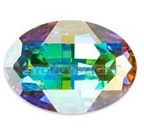 4127 - 30x22mm - Swarovski oval cabochon - crystal ab