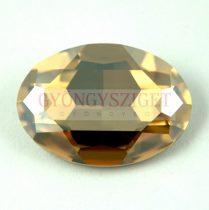 4127 - 30x22mm - Swarovski ovális kaboson - Crystal Golden Shadow