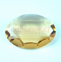 4127 - 30x22mm - Swarovski oval cabochon - Light Colorado Topaz (unfoiled)