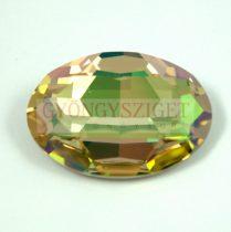 Swarovski oval cabochon - 4127 - 30x22mm -  crystal luminous green