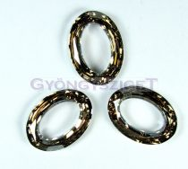 Swarovski - 4137 - 22x16mm - Crystal golden shadow cal cosmic oval