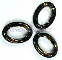 Swarovski - 4137 - 22x16mm - Crystal tabac cosmic oval