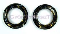 Swarovski - 4139 - 20 mm - Crystal tabac cosmic ring