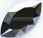 4227-Swarovski navette - 32x17mm - Jet hematite