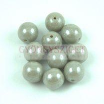 Préselt golyó gyöngy- Opaque Gray Luster - 4mm