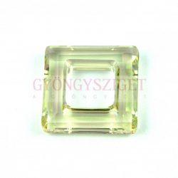 Swarovski - 4439 - Square Ring - 20 mm - Crystal Luminous Green