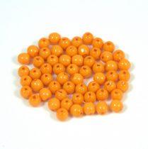 Cseh préselt golyó gyöngy -  sütőtök -3mm