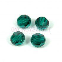 Swarovski csiszolt golyó 6 mm - Emerald
