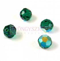 Swarovski MC round bead 6mm - Emerald AB