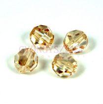 Swarovski csiszolt golyó 8 mm - crystal golden shadow