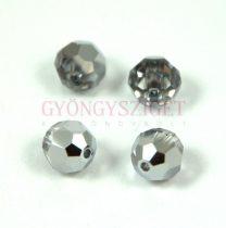 Swarovski csiszolt golyó 6 mm - Crystal Light Chrome