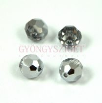 Swarovski csiszolt golyó 8 mm - crystal light chrome