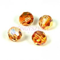 Swarovski csiszolt golyó 8 mm - Crystal Metallic Sunshine