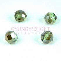 Swarovski csiszolt golyó 8 mm - Peridot Bronze Shade
