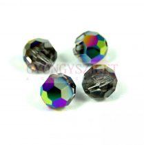 Swarovski MC round bead 6mm - crystal scarabeus green
