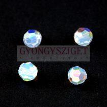 Swarovski MC round bead 6mm - White Opal Ab