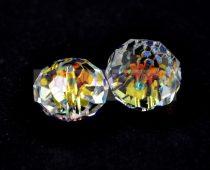 Swarovski - 5040 - faceted rondelle - crystal ab - 18mm