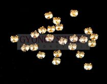 Swarovski - 5320 - chaton montees - varrható chaton - golden shadow - 4mm